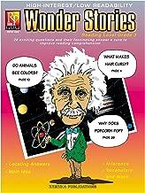 كتاب قصة Reading Level 3 Wonder من Remedia Publications REM468، 0. ارتفاع 3 بوصات، عرض 8 بوصات، طول 11 بوصة