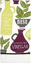 Ritz Kitchen Wears Printed Kitchen Dish Towel, Oil & Vinegar
