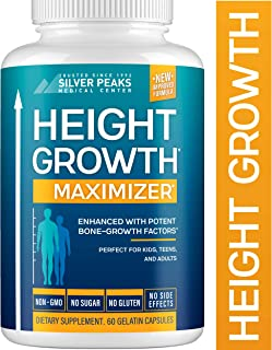 Height Growth Maximizer – Natural Height Pills to Grow Taller – Made in USA..