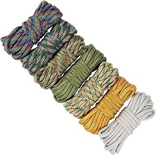 comprar comparacion UOOOM - Juego de 7 cuerdas de paracaídas hechas a mano para pulseras y llaveros