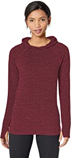 Amazon Essentials Brushed Tech Stretch Popover Hoodie Donna