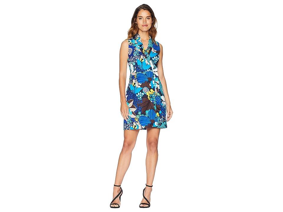 Trina Turk Eliana Dress (Brilliant Blue) Women