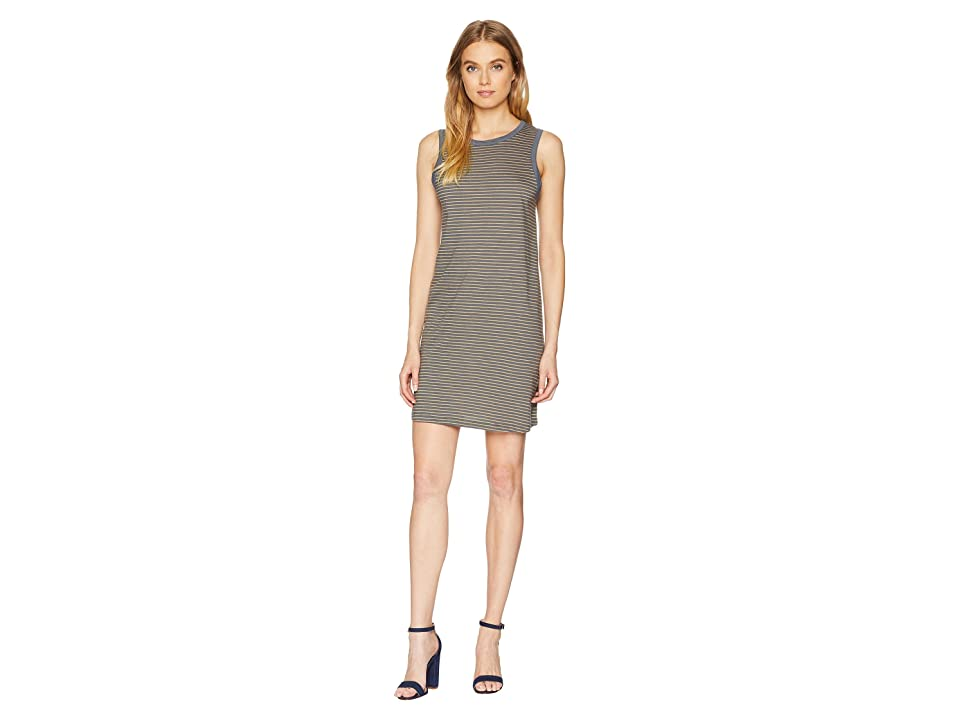 Roxy Love Sun Tank Dress (Fall Leaf Thin Stripe) Women
