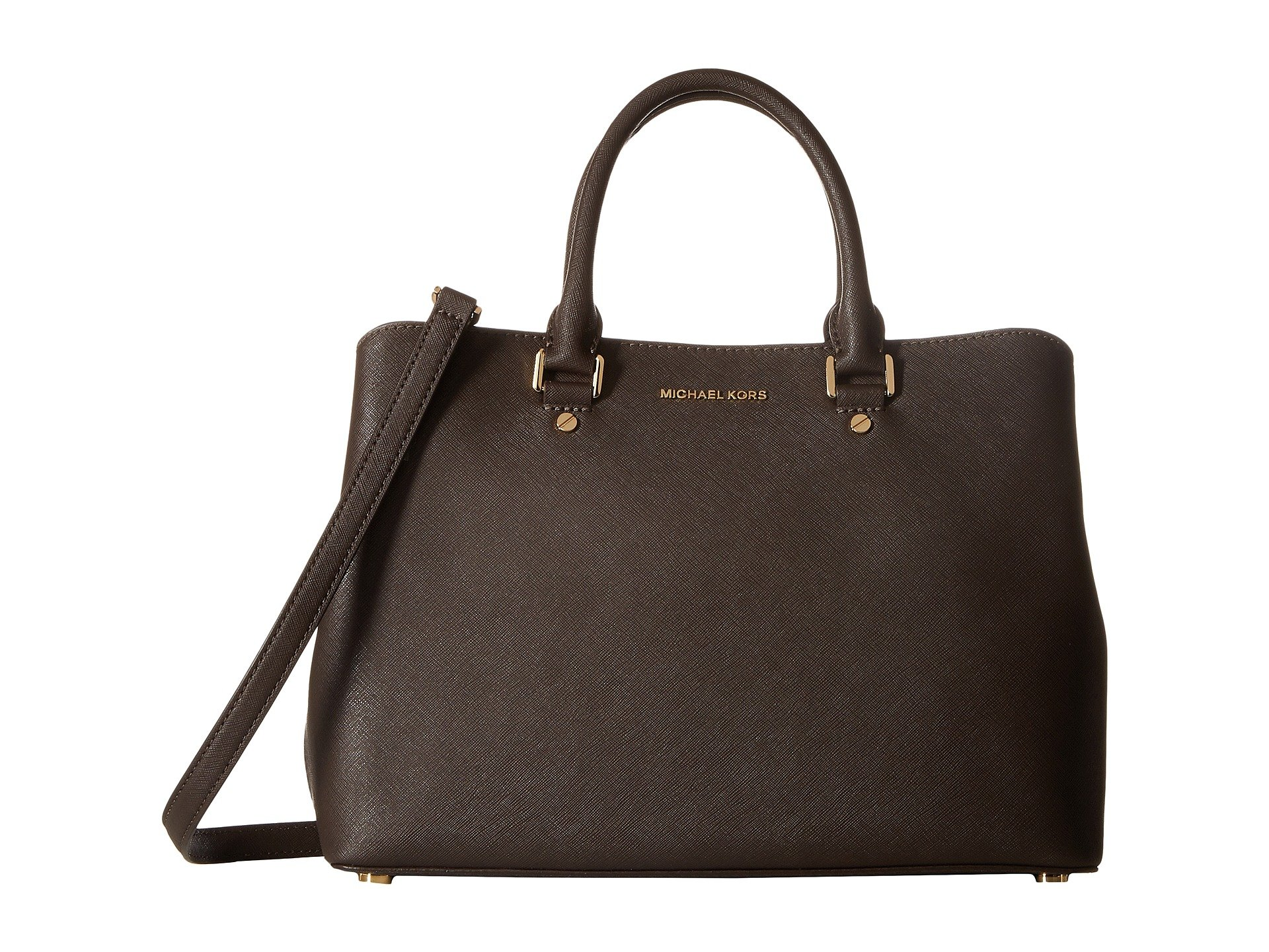 michael michael kors savannah lg satchel at 6pm. Black Bedroom Furniture Sets. Home Design Ideas