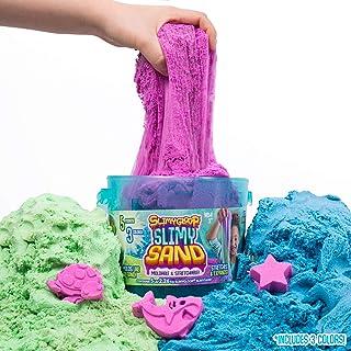 SlimyGloop SlimySand Bucket 5 lb- Blue/Green/Orange by Horizon Group USA