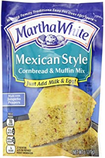 Martha White Mexican Style Corn Bread & Muffin Mix (6 oz) 3 Pack