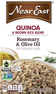 Near East Quinoa and Brown Rice Blend, Rosemary and Olive Oil (Pack of 6 Boxes)