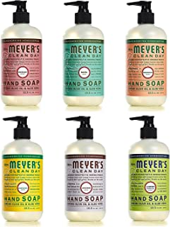 Mrs. Meyers Clean Day Liquid Hand Soap 6 Scent Variety Pack, 12.5 oz Each (6 CT)
