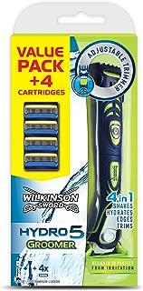 Wilkinson Sword Hydro 5 Groomer Men's 4-in-1 Razor Pack