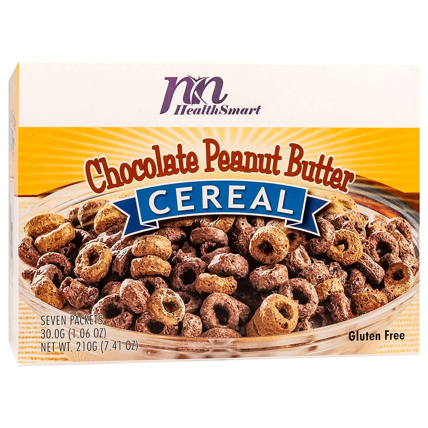 HealthSmart High Protein Ranking TOP7 Chocolate Peanut Pro Ranking TOP19 Butter Cereal 14g