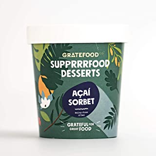 Gratefood Co Acai Sorbet Pint Dessert Food, 473 ml - Frozen