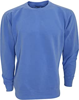 comfort colors blue jean sweatshirt