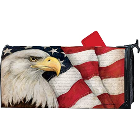 XMmansbdian US Army 101st Airborne Air Assault Mailbox Cover Magnetic Letter Post Box Cover Mailboxes Decorate Wrap Home Decorative for Standard Size 18 X 21