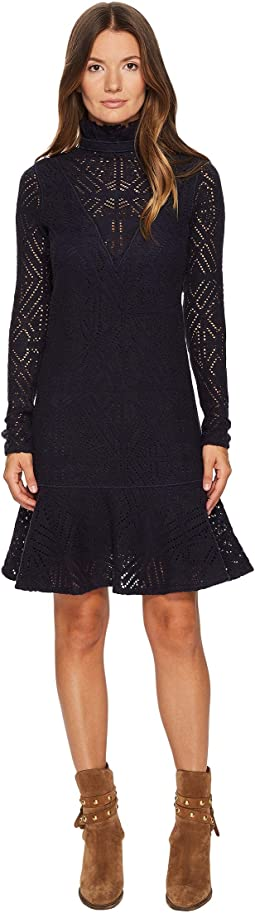 See by Chloe - Lacey Jersey Long Sleeve Dress