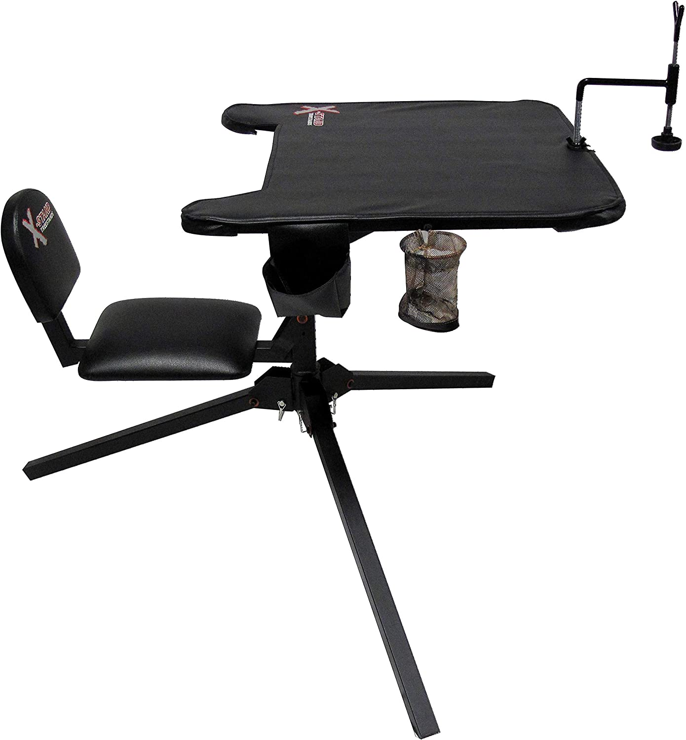 X-Stand New Shipping Free Shipping Hunting Shooting Bench Swivel with Seat unisex