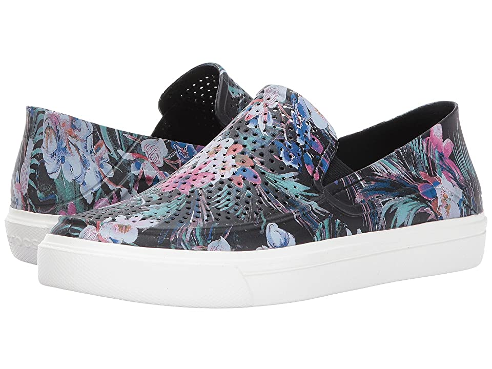 Crocs CitiLane Roka Graphic Slip-On (Tropical) Women