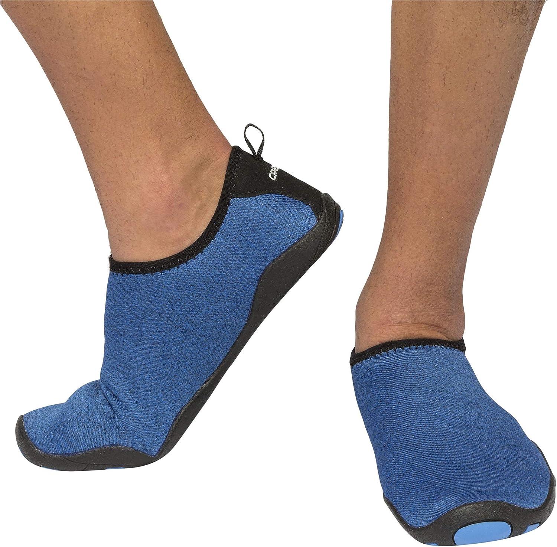 Cressi half Women's Black Aqua Socks Safety and trust Water Shoes Lombok Blue