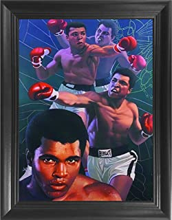 Muhammad Ali Boxing 3D Poster Wall Art Decor Framed Print | 14.5x18.5 | Lenticular Posters & Pictures | Memorabilia Gifts for Guys & Girls Bedroom | The Greatest Who Ever was Fan Art Sports Picture