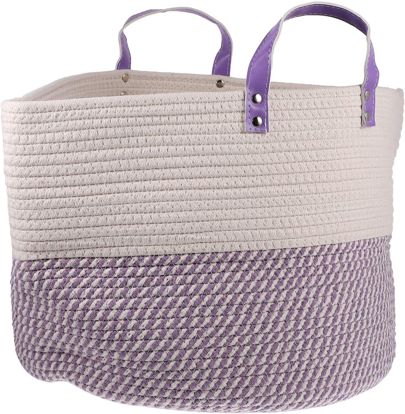 Inexpensive GARNECK Rope Basket Storage B Blanket Safety and trust Towels Laundry
