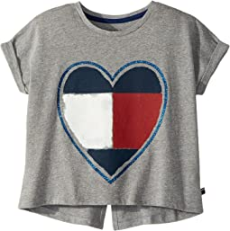 Tommy Hilfiger Kids - Heart Tee (Big Kids)