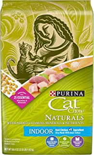 Purina Cat Chow Naturals Indoor Dry Food - 1.42 Kg X 4 Pic