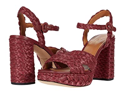 Kate Spade New York Disco Raffia (Pinot Noir) Women