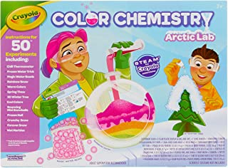 Crayola Artic Color Chemistry Set for Kids, Steam/Stem Activities, Educational Toy, Ages 7, 8, 9, 10 (Renewed)