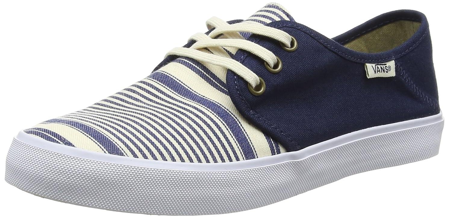 解釈的漂流単語Vans Women's Tazie Sf Multi Stripe Ankle-High Canvas Skateboarding Shoe