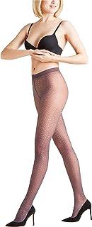 FALKE Damen Strumpfhosen Daydream 30 Denier - Transparent, Matt, 1 Stück, Versch. Farben, Größe S-L - Modische Feinstrumpfhose, dezente Allover-Musterung