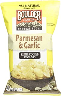 Boulder Canyon Parmesan and Garlic Kettle Cooked Potato Chips, 142 g