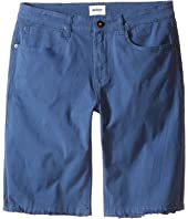 Hudson Kids - Stretch Twill Five-Pocket Shorts in Treasure Indigo (Big Kids)