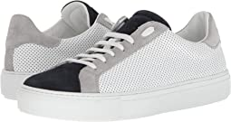 eleventy - Perforated Leather Sneaker