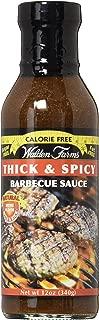 Walden Farms Calorie Free Barbecue Sauce - Thick & Spicy 12 fl oz Bottle, 1 Unit