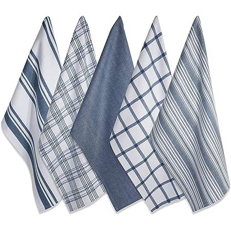Elite 10er Wipe Kitchen Towel Tea Towel Dish Cloth Blue