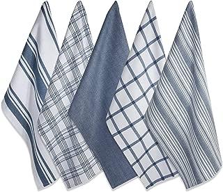 DII Kitchen Dish Towels (Stone Blue, 18x28