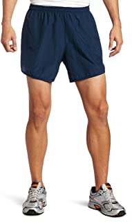 Soffe Men's Navy Running Short with Pocket