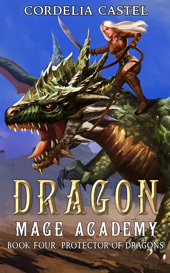 光電カメ休日にDragon Mage Academy: Protector of Dragons (English Edition)