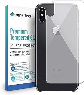 a59ffd3d762 smartect Protector de Pantalla Trasero para iPhone X/iPhone XS [Trasero] -  9H