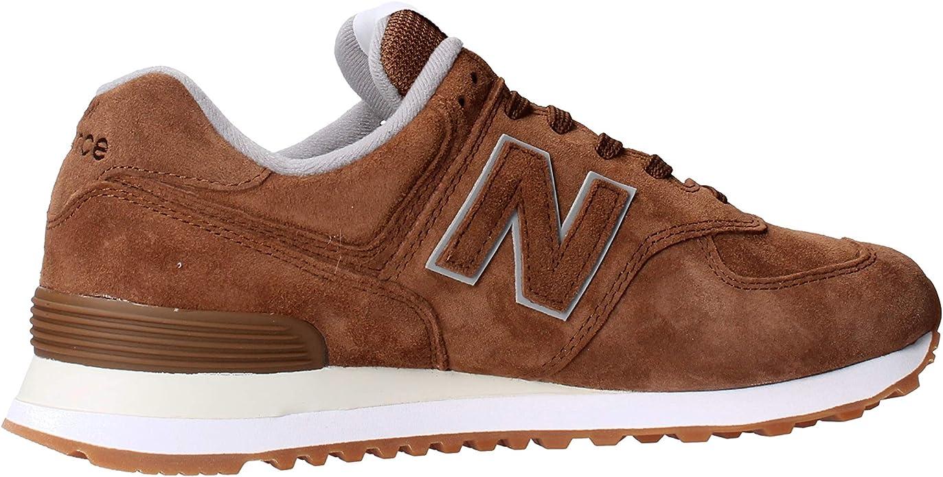 New Balance ML574EMC Sneakers Uomo Marrone 42 : Amazon.it ...
