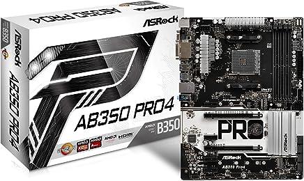 ASRock AMD B350チップセット搭載 ATXマザーボード AB350 Pro4