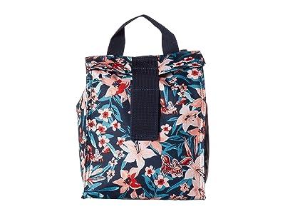 Roxy Kids The Little Mermaid Lunch Hour Lunch Bag (Dress Blues Sebastian Floral) Bags