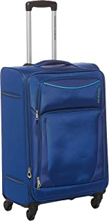 American Tourister Portland Softside Spinner Luggage Trolley 79cm with TSA Lock - Blue