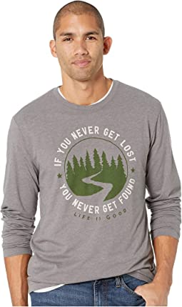 Get Lost, Get Found Long Sleeve Cool T-Shirt
