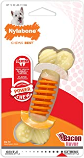 Nylabone Power Chew Dental Pro Action Bone Bacon Chew Toy
