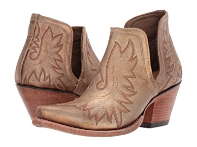 Ariat Dixon (Distressed Gold) Cowboy Boots