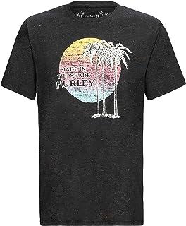 Hurley M Rec Tres Palms S/S T-Shirt Uomo