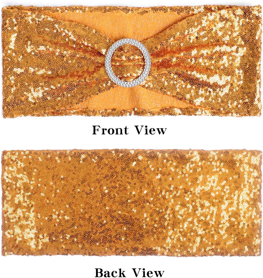alpha-ene.co.jp Gold ANMINY Pack of 20 All Around Sequin Chair ...