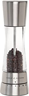 Cole & Mason H59401G Derwent Pepper Mill, Stainless Steel