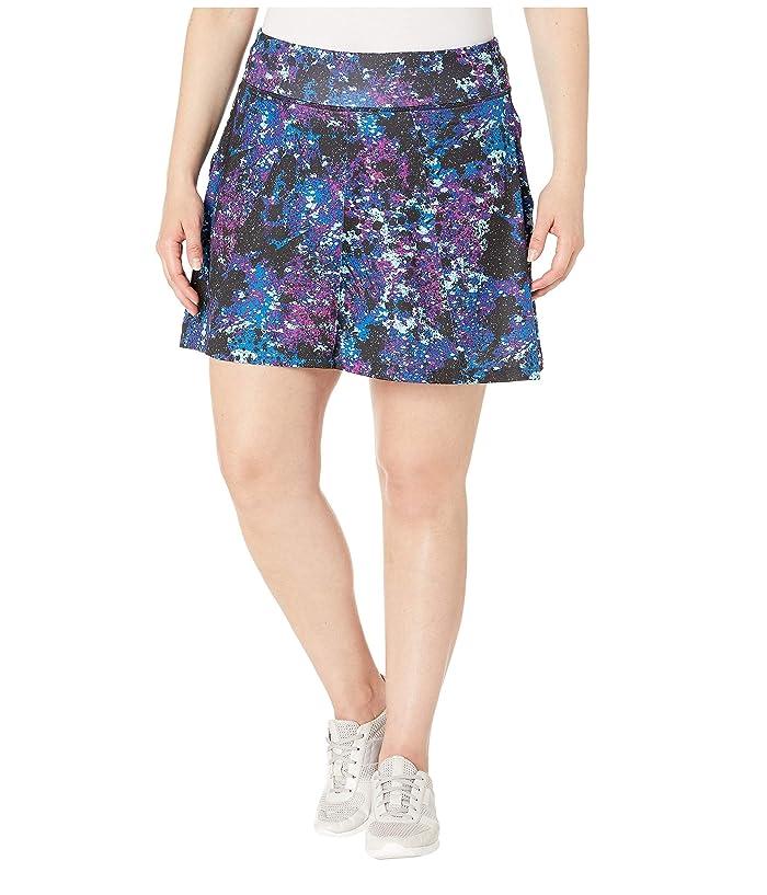 Skirt Sports Plus Size Free Flow Skirt (Odyssey Print) Women