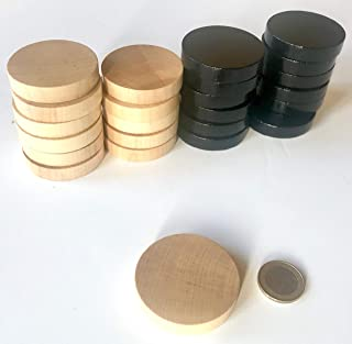 Spielfiguren f/ür Brettspiele: M/ännchen mit Hut 6 x 10, Basisfarben Halmakegel aus Holz Gr/ö/ße 13//26 mm